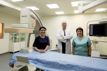 Відділення інтервенційної кардіології та радіології
